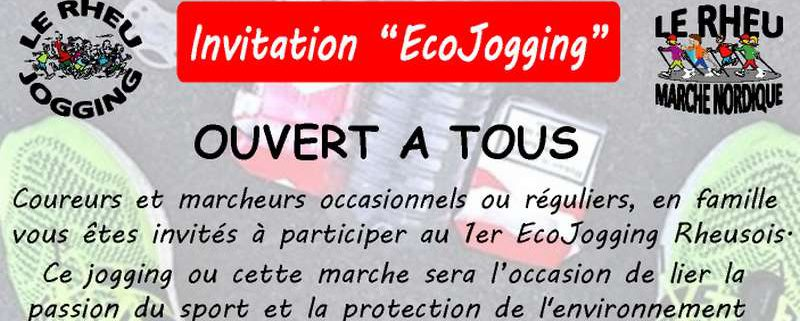 Invitation EcoJogging