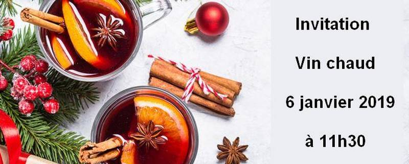 Invitation Vin Chaud - 2019